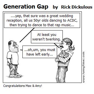 Generation Gap by Rick Dickulous