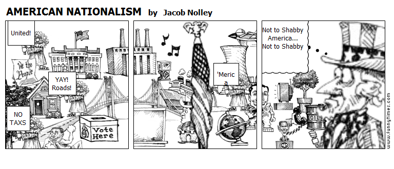 AMERICAN NATIONALISM by Jacob Nolley