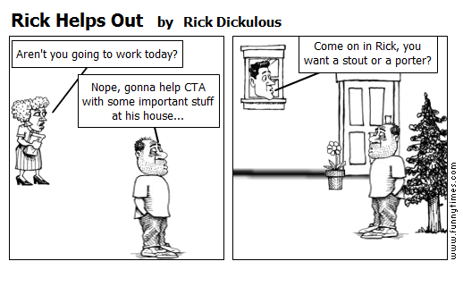 Rick Helps Out by Rick Dickulous