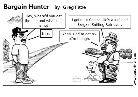 Bargain Hunter by Greg Fitze