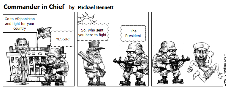 Commander in Chief by Michael Bennett