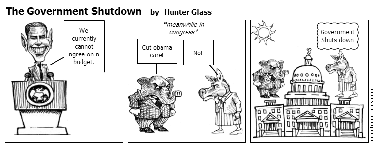 The Government Shutdown by Hunter Glass