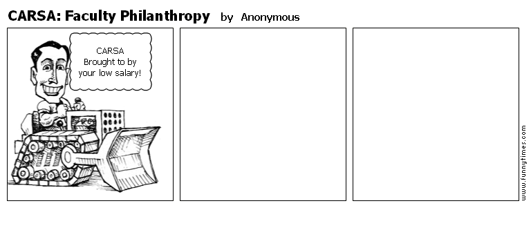 CARSA Faculty Philanthropy by Anonymous