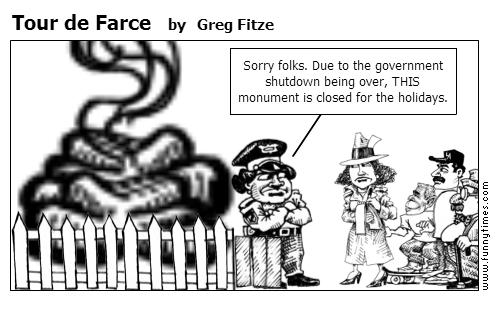 Tour de Farce by Greg Fitze