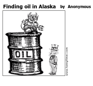 Finding oil in Alaska by Anonymous