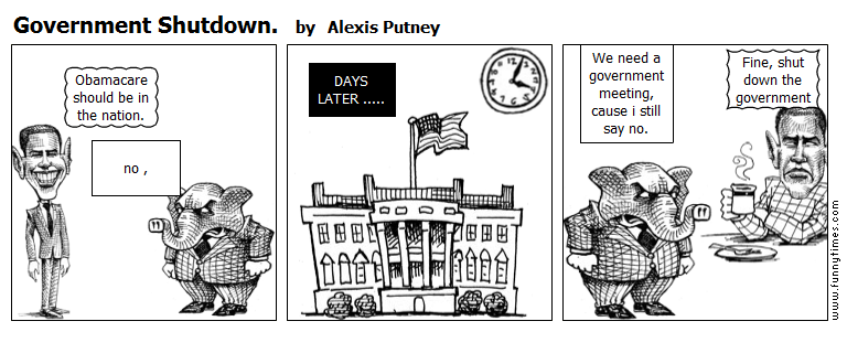 Government Shutdown. by Alexis Putney