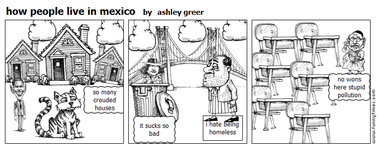 how people live in mexico by ashley greer