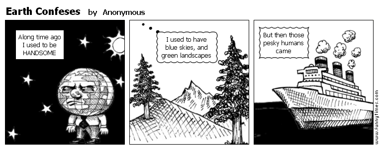 Earth Confeses by Anonymous