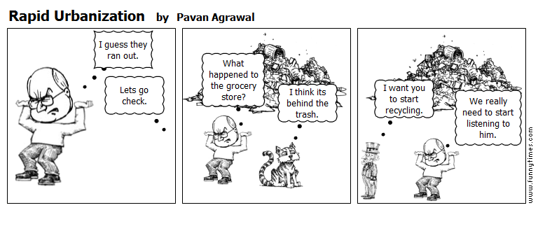 Rapid Urbanization by Pavan Agrawal