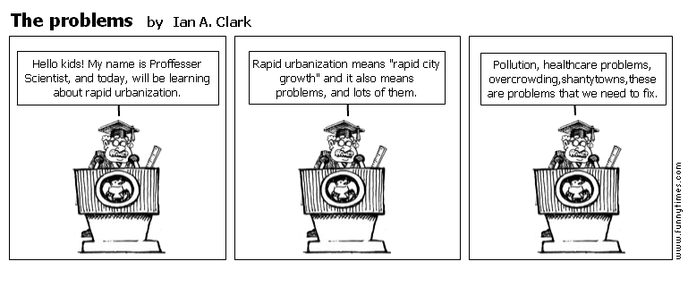 The problems by Ian A. Clark