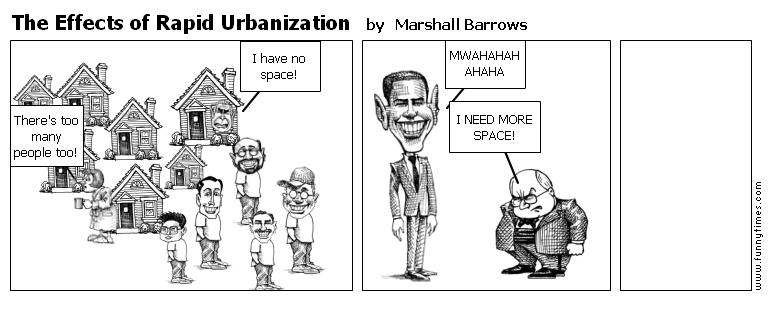 The Effects of Rapid Urbanization by Marshall Barrows