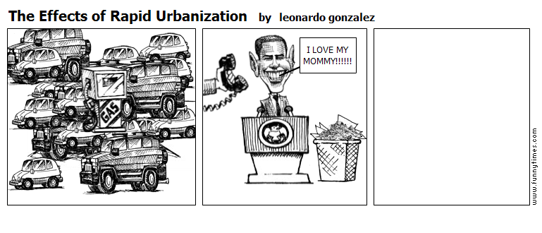 The Effects of Rapid Urbanization by leonardo gonzalez