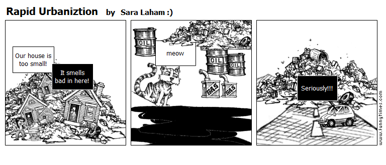 Rapid Urbaniztion by Sara Laham