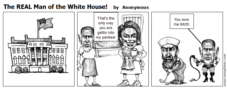 The REAL Man of the White House by Anonymous