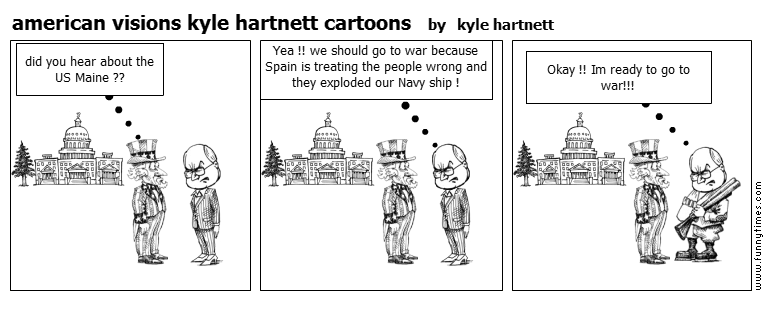 american visions kyle hartnett cartoons by kyle hartnett