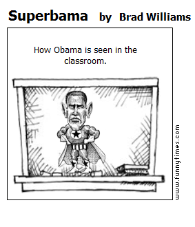Superbama by Brad Williams