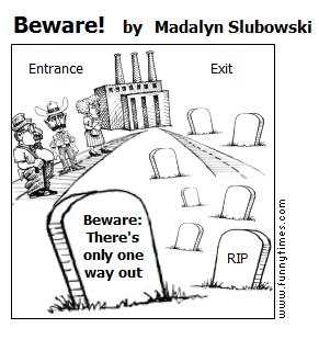 Beware by Madalyn Slubowski