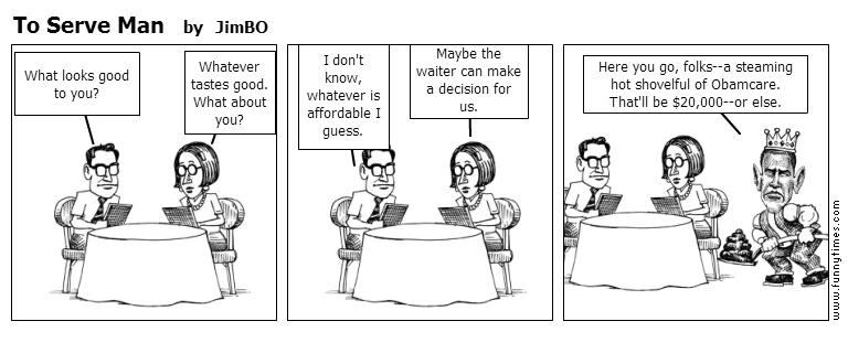 To Serve Man by JimBO