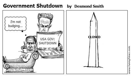 Government Shutdown by Desmond Smith