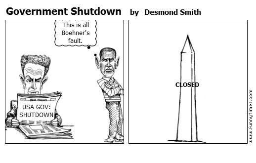 Government Shutdown by Desmond Smith