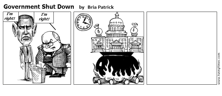 Government Shut Down by Bria Patrick