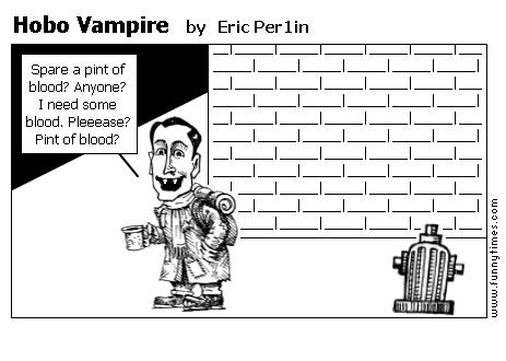 Hobo Vampire by Eric Per1in