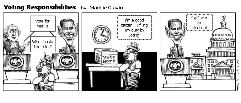 Voting Responsibilities by Maddie Clavin