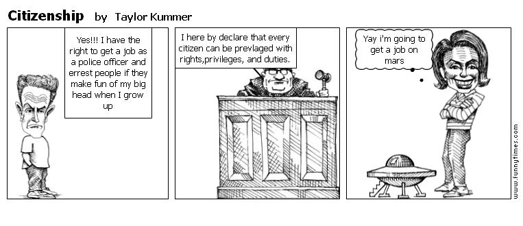 Citizenship by Taylor Kummer