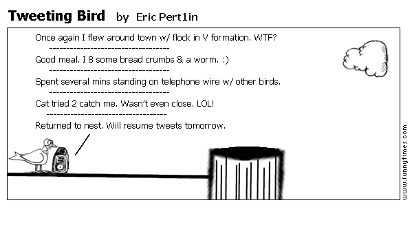 Tweeting Bird by Eric Pert1in