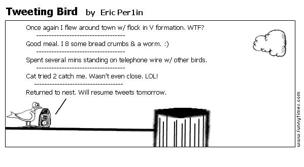 Tweeting Bird by Eric Per1in