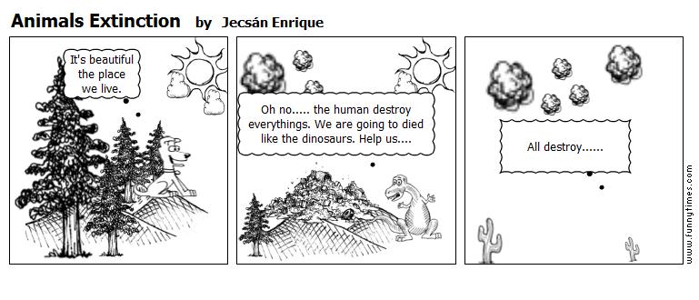 Animals Extinction by Jecsn Enrique
