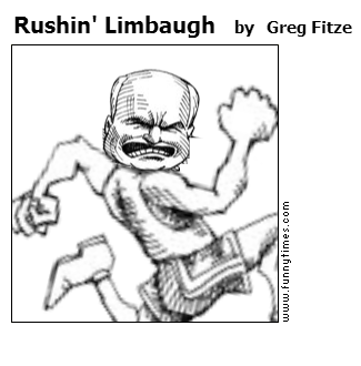 Rushin' Limbaugh by Greg Fitze