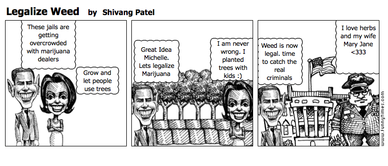 Legalize Weed by Shivang Patel