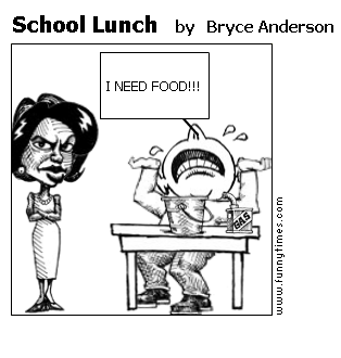School Lunch by Bryce Anderson