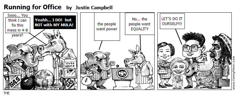 Running for Office by Justin Campbell