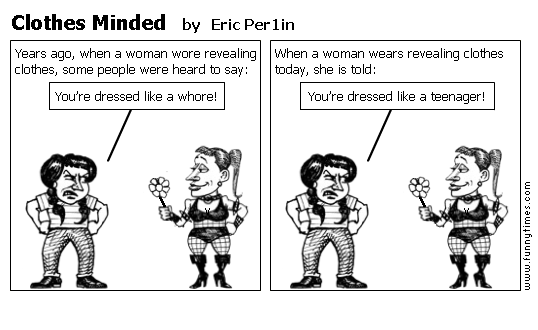 Clothes Minded by Eric Per1in