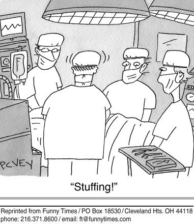 Funny surgery hospital doctors  cartoon, November 27, 2013
