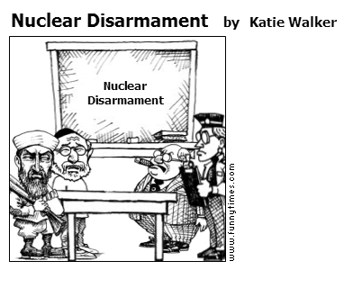 Nuclear Disarmament by Katie Walker