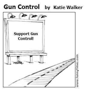 Gun Control by Katie Walker