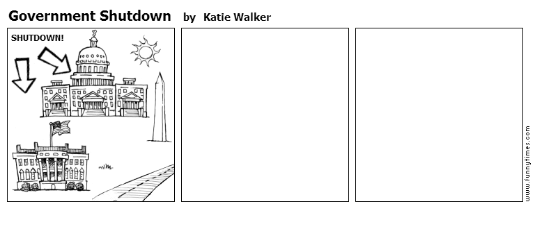 Government Shutdown by Katie Walker