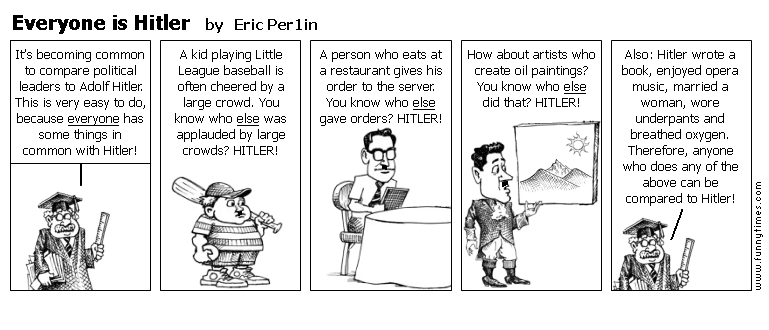 Everyone is Hitler by Eric Per1in