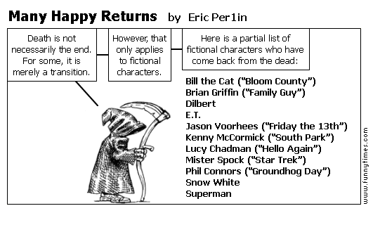 Many Happy Returns by Eric Per1in