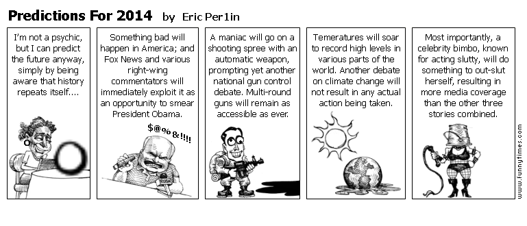 Predictions For 2014 by Eric Per1in