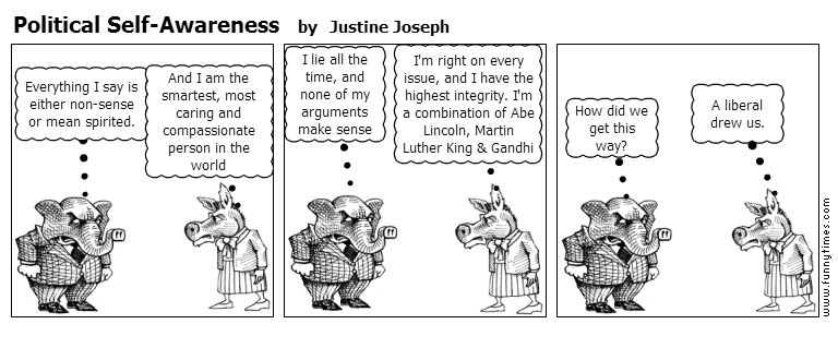 Political Self-Awareness by Justine Joseph