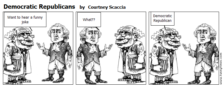 Democratic Republicans by Courtney Scaccia