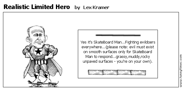 Realistic Limited Hero by Lex Kramer