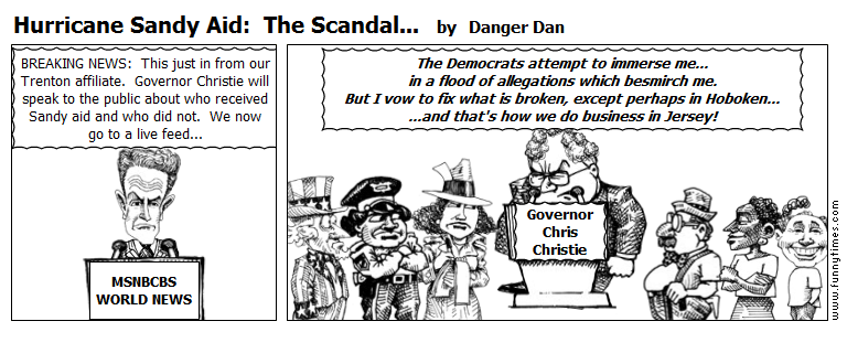 Hurricane Sandy Aid  The Scandal... by Danger Dan