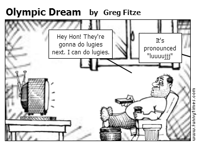 Olympic Dream by Greg Fitze