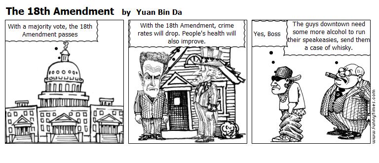 The 18th Amendment by Yuan Bin Da