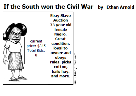 If the South won the Civil War by Ethan Arnold
